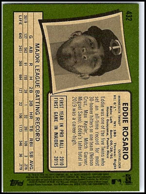 thumbnail 343 - 2020 Topps Heritage MLB Baseball Trading Cards Pick From List 251-500 W/Rookies