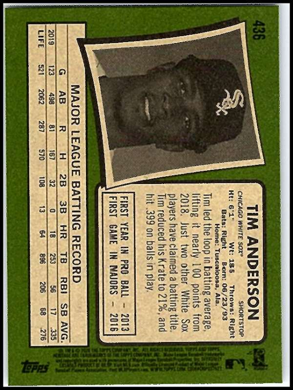 thumbnail 349 - 2020 Topps Heritage MLB Baseball Trading Cards Pick From List 251-500 W/Rookies