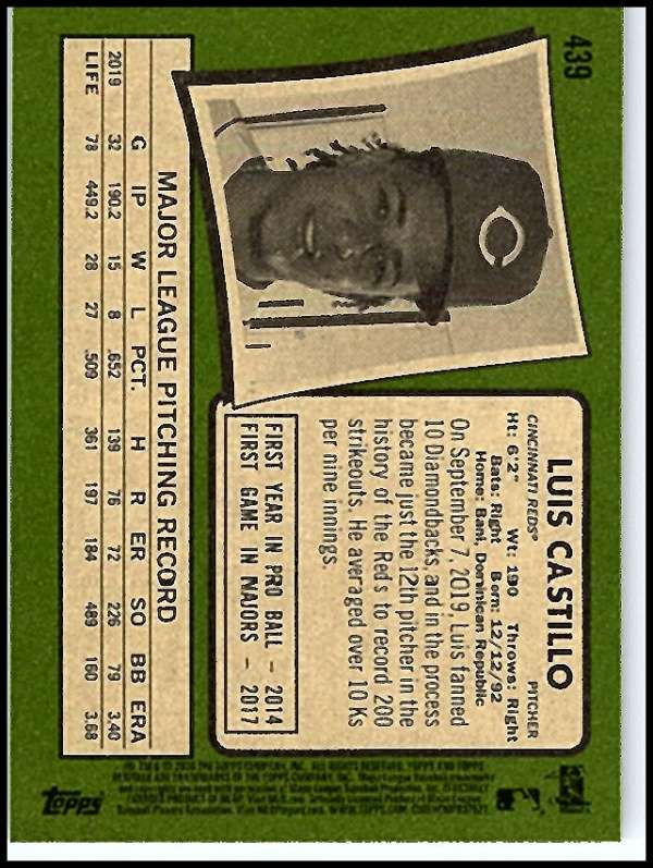 thumbnail 353 - 2020 Topps Heritage MLB Baseball Trading Cards Pick From List 251-500 W/Rookies