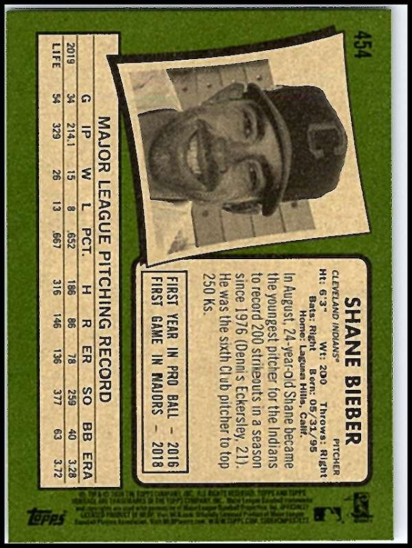 thumbnail 367 - 2020 Topps Heritage MLB Baseball Trading Cards Pick From List 251-500 W/Rookies