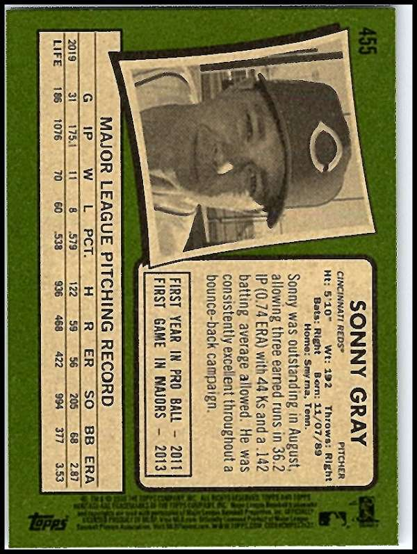 thumbnail 369 - 2020 Topps Heritage MLB Baseball Trading Cards Pick From List 251-500 W/Rookies