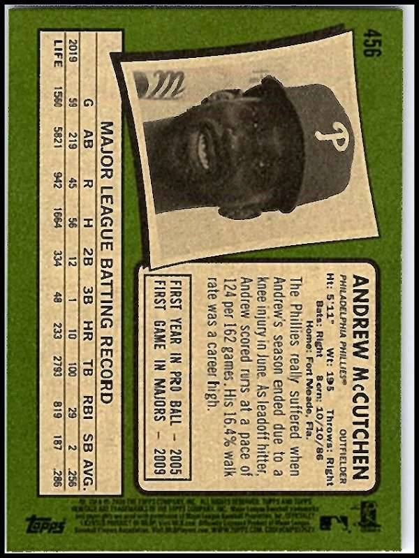 thumbnail 371 - 2020 Topps Heritage MLB Baseball Trading Cards Pick From List 251-500 W/Rookies