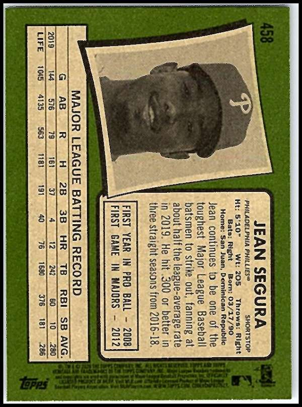 thumbnail 375 - 2020 Topps Heritage MLB Baseball Trading Cards Pick From List 251-500 W/Rookies