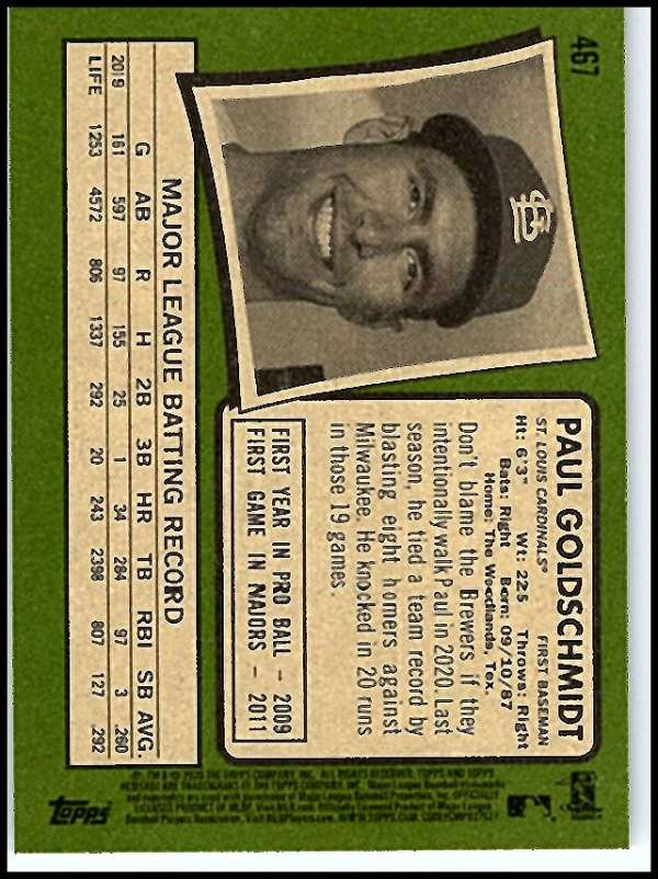 thumbnail 389 - 2020 Topps Heritage MLB Baseball Trading Cards Pick From List 251-500 W/Rookies