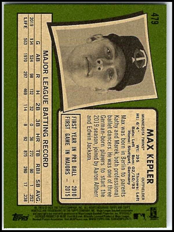 thumbnail 409 - 2020 Topps Heritage MLB Baseball Trading Cards Pick From List 251-500 W/Rookies