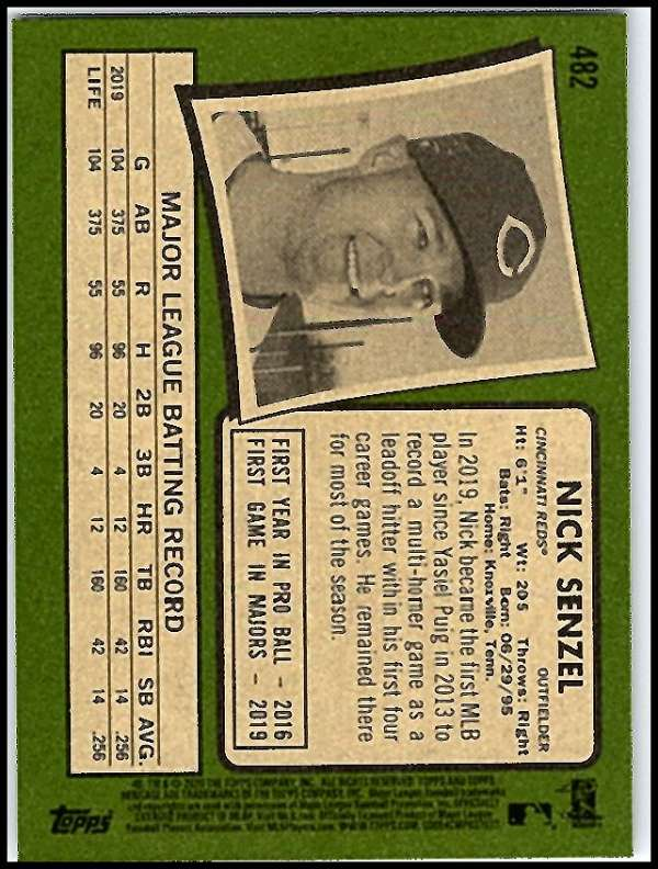thumbnail 413 - 2020 Topps Heritage MLB Baseball Trading Cards Pick From List 251-500 W/Rookies