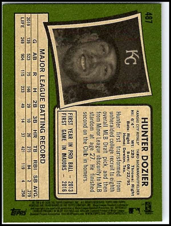 thumbnail 419 - 2020 Topps Heritage MLB Baseball Trading Cards Pick From List 251-500 W/Rookies