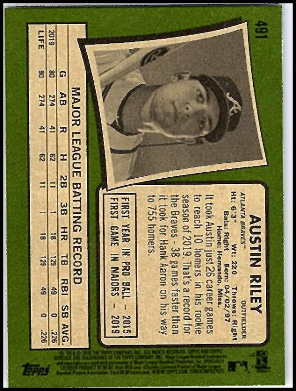 thumbnail 423 - 2020 Topps Heritage MLB Baseball Trading Cards Pick From List 251-500 W/Rookies