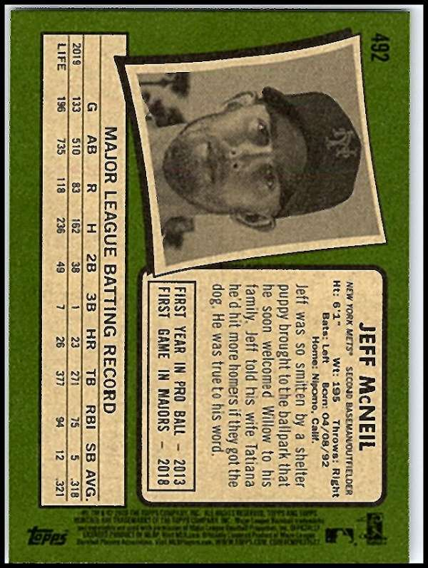 thumbnail 425 - 2020 Topps Heritage MLB Baseball Trading Cards Pick From List 251-500 W/Rookies