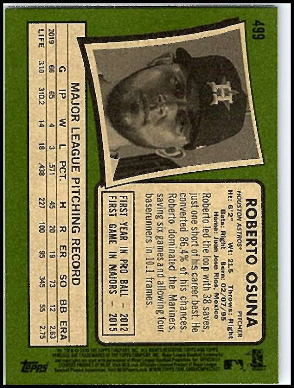 thumbnail 431 - 2020 Topps Heritage MLB Baseball Trading Cards Pick From List 251-500 W/Rookies
