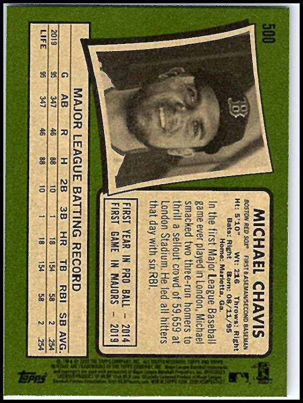 thumbnail 433 - 2020 Topps Heritage MLB Baseball Trading Cards Pick From List 251-500 W/Rookies