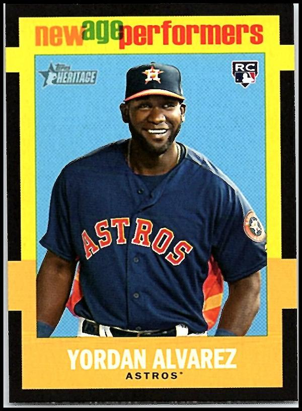 2020 Topps Heritage New Age Performers