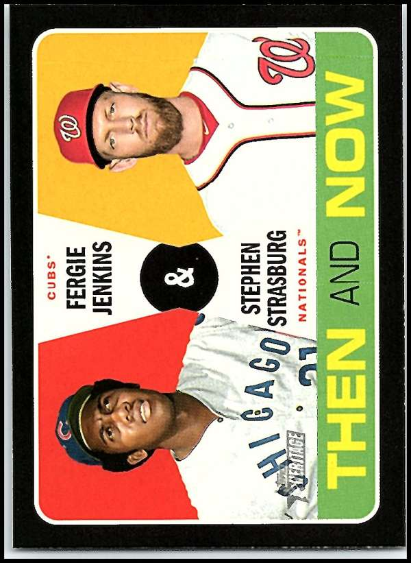 2020 Topps Heritage Then and Now