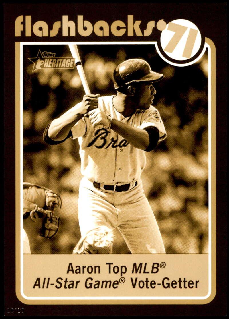 2020 Topps Heritage Baseball Flashbacks 5x7 Gold