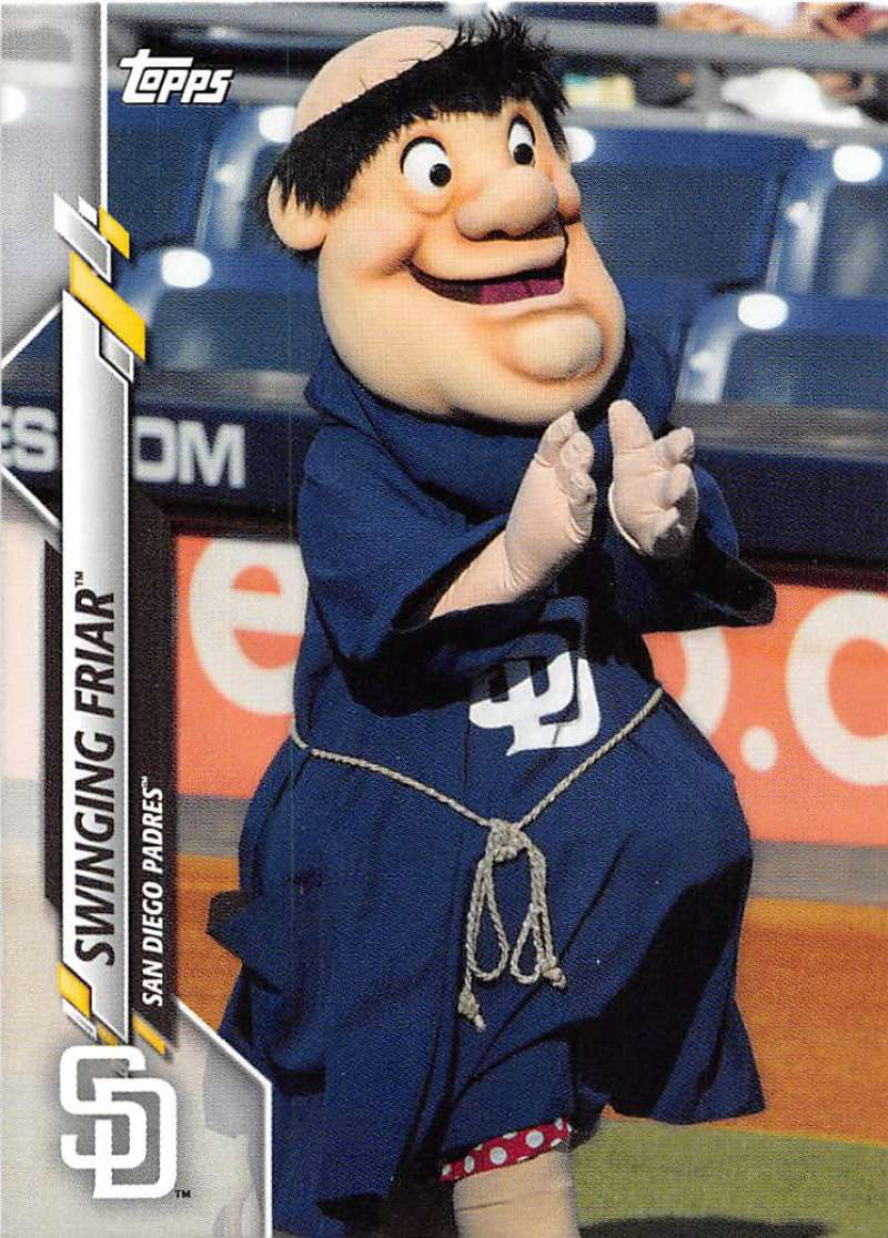 2020-Topps-Opening-Day-Mascots-Baseball-Card-Singles-Complete-Your-Set-You-Pick miniature 30