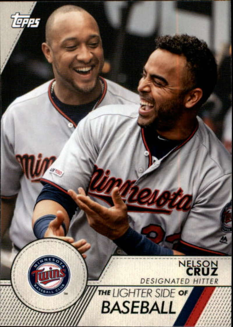 2020 Topps Opening Day The Lighter Side of Baseball