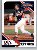 2020 Stars and Stripes Hobby #9 Spencer Torkelson USA Baseball Collegiate National Team  Official Panini America USA Baseball Licensed Trading Card