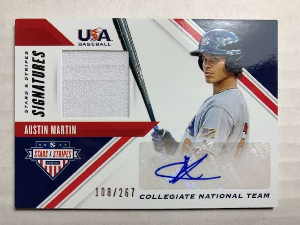 2020 Panini Stars and Stripes Signatures