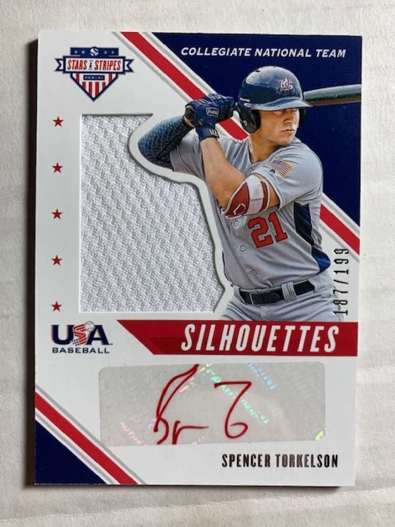 2020 Panini Stars and Stripes Silhouettes Signatures Jerseys