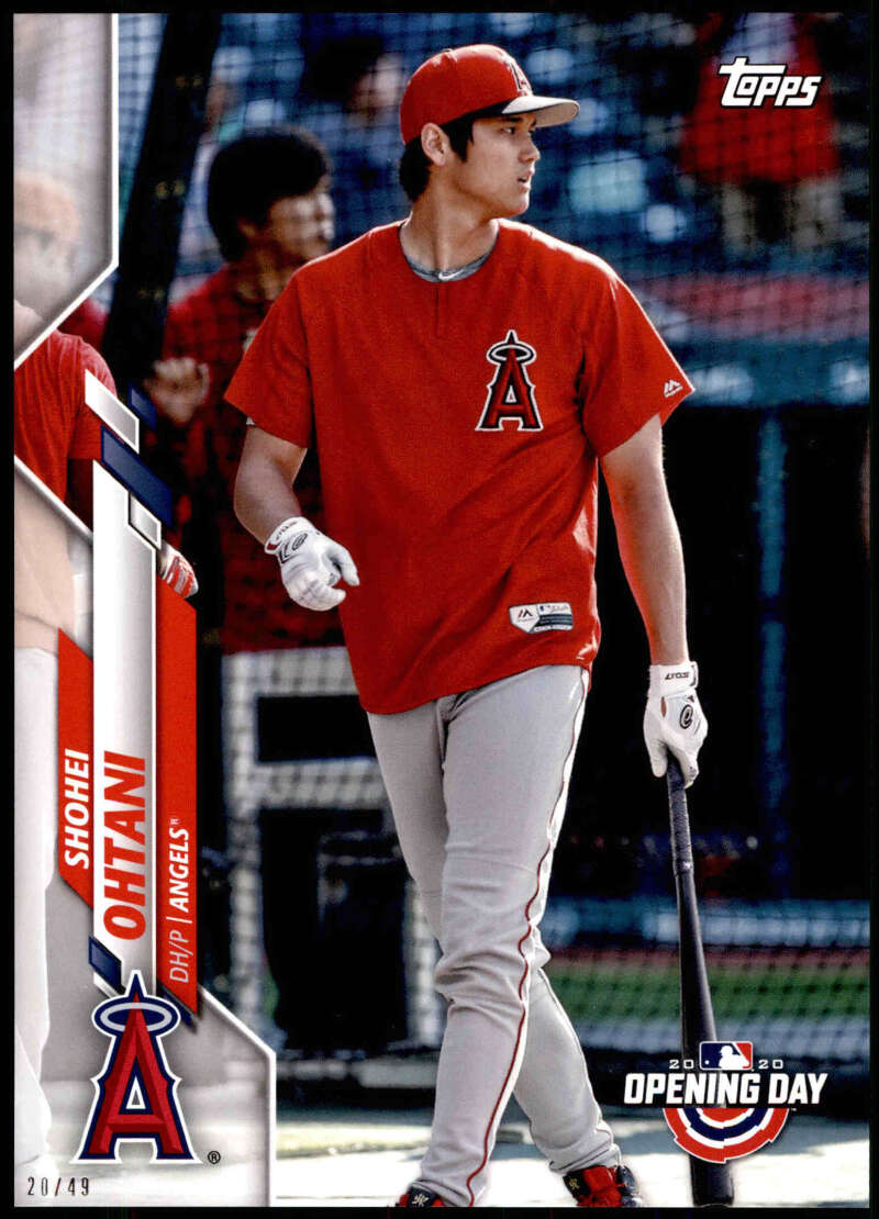 2020 Topps Opening Day Image Variations 5x7