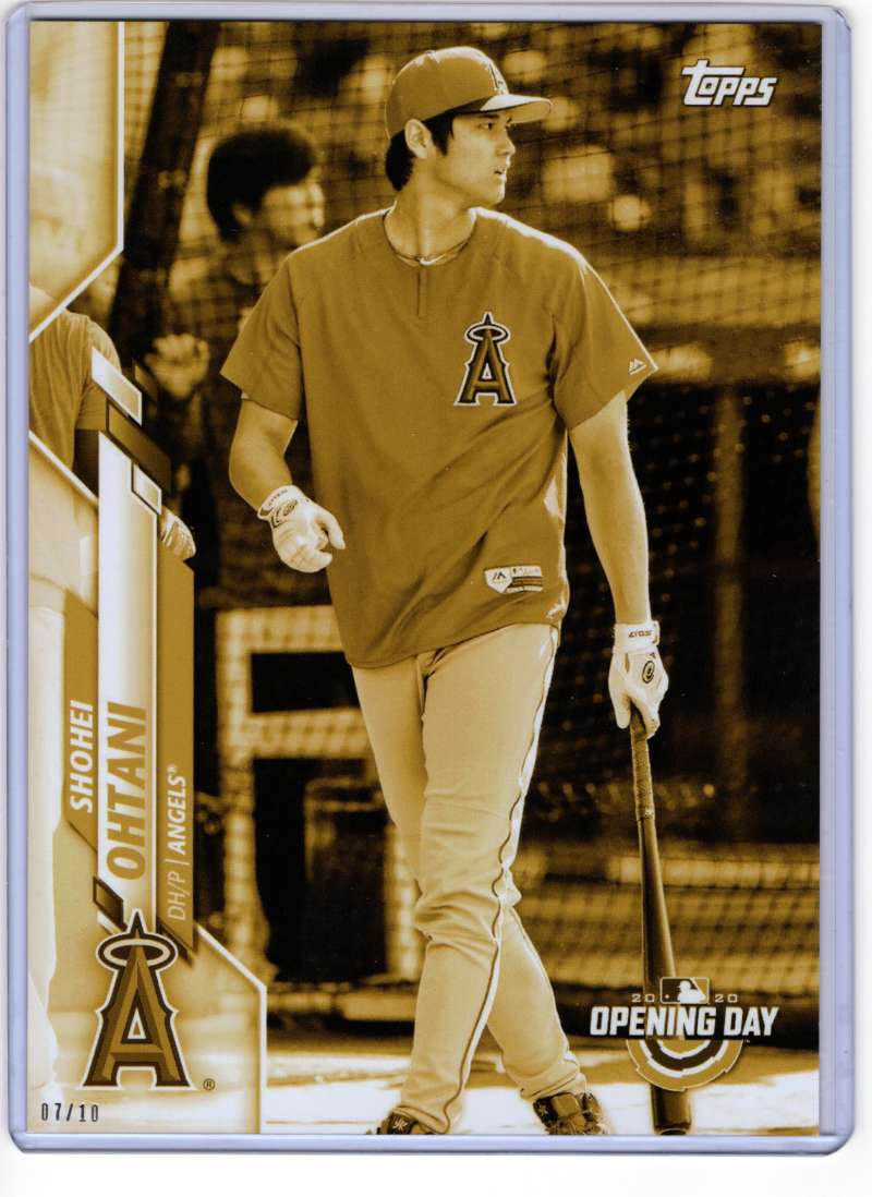 2020 Topps Opening Day Image Variations 5x7 Gold