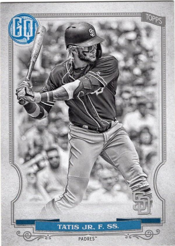 2020 Topps Gypsy Queen Black and White