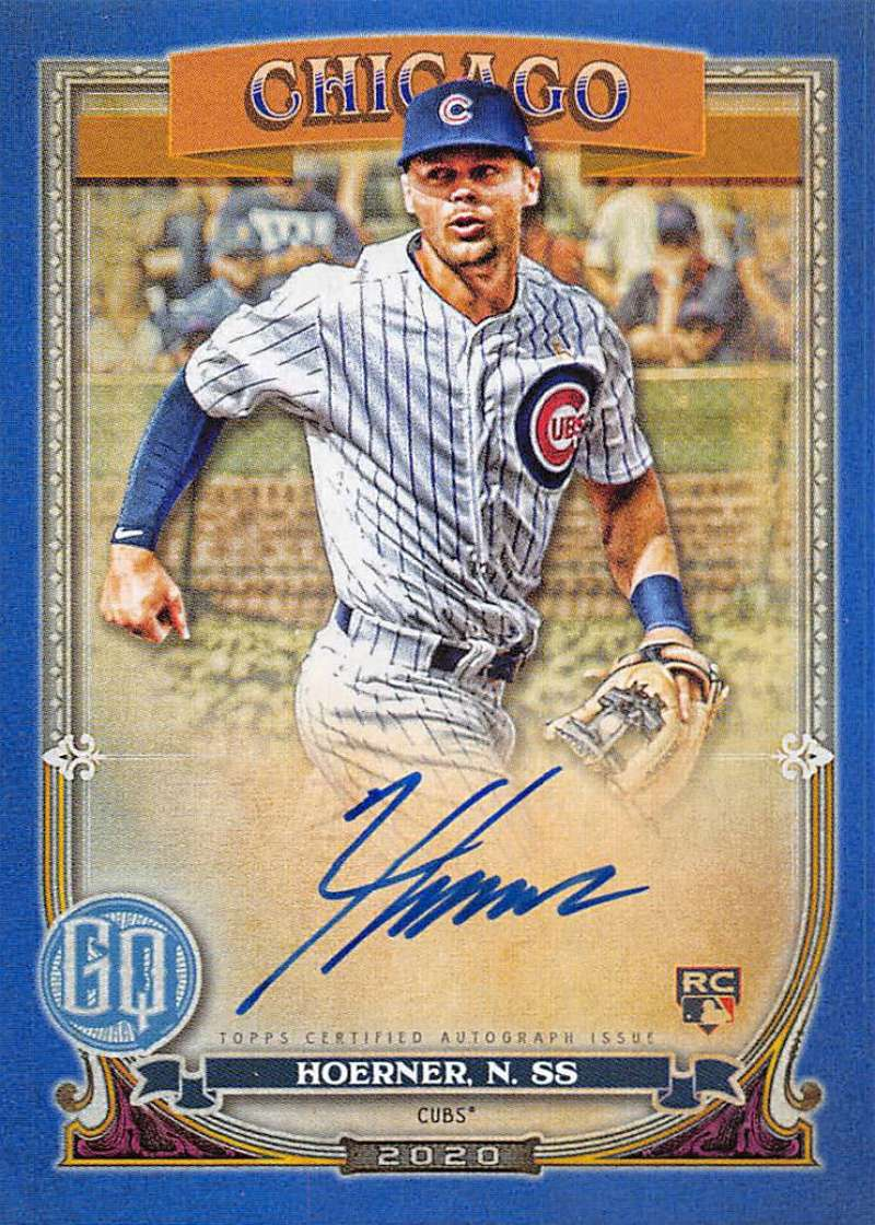 2020 Topps Gypsy Queen Autographs Blue
