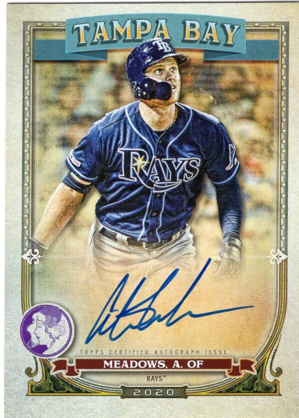 2020 Topps Gypsy Queen Autographs GQ Logo Swap