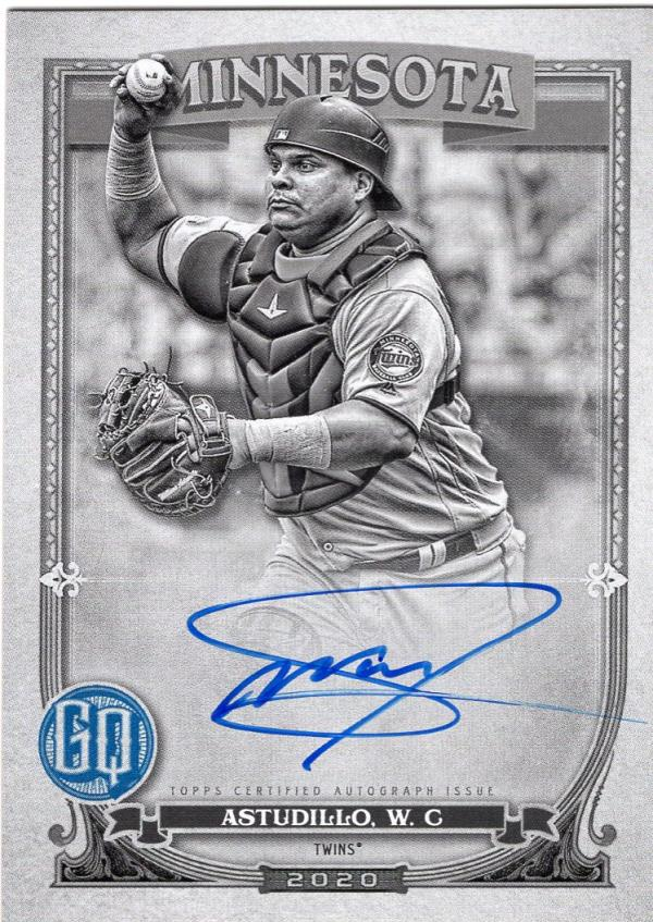 2020 Topps Gypsy Queen Autographs Black and White