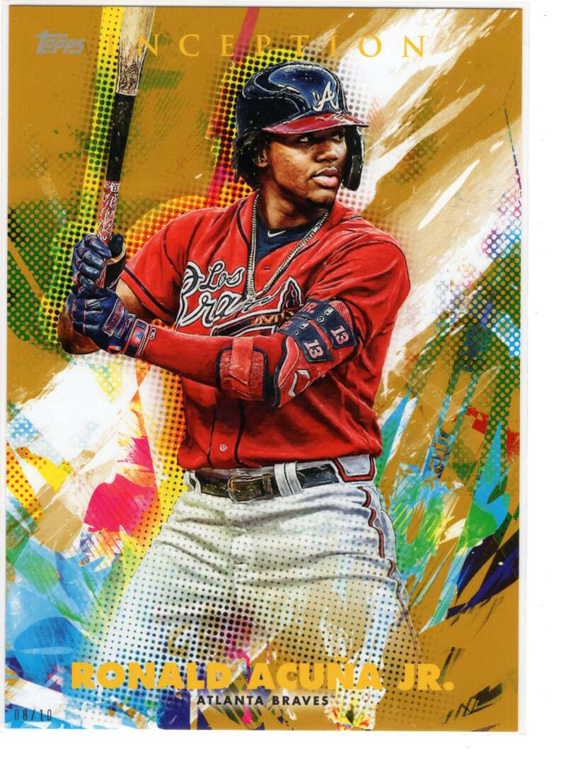 2020 Topps Inception 5x7 Gold