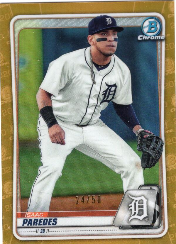 2020 Bowman  Prospects Gold