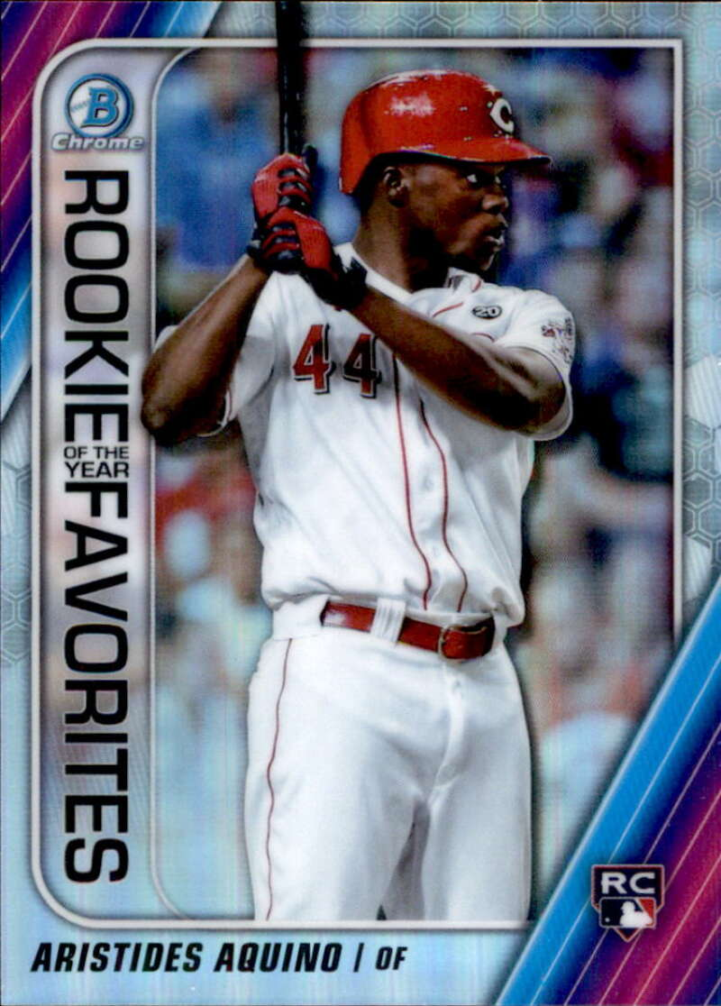 2020 Bowman  Chrome Rookie of the Year Favorites Refractors