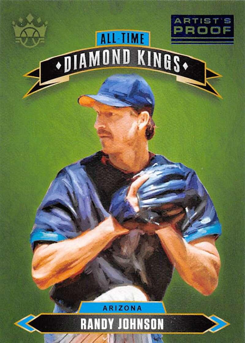 2020 Panini Diamond Kings All-Time Diamond Kings Artist Proof Blue