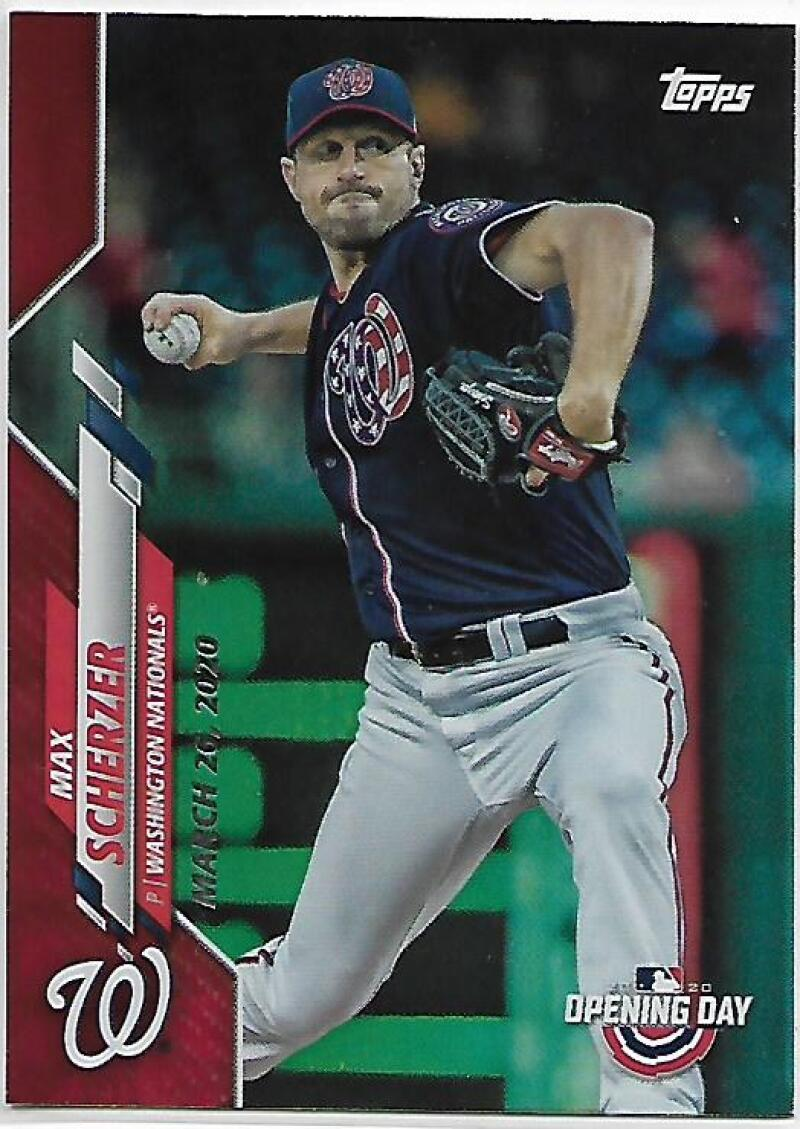 2020 Topps Opening Day Red Foil
