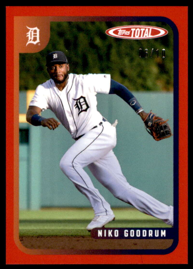 2020 Topps Total Red