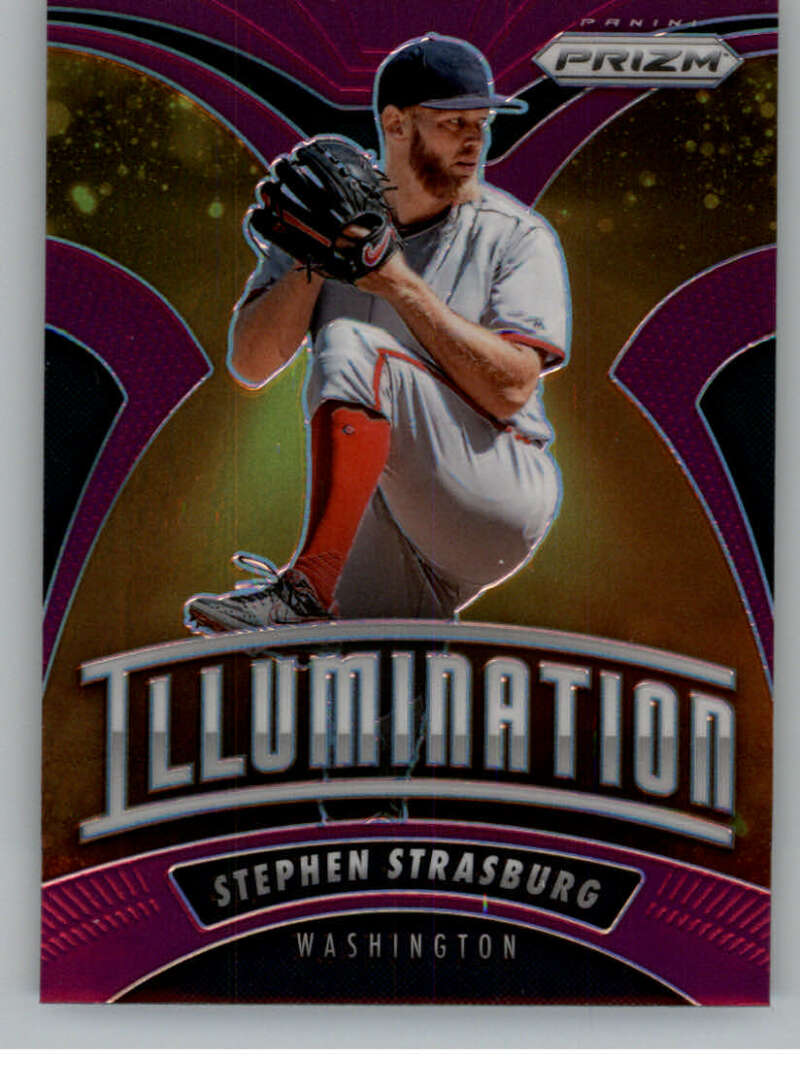 2020 Panini Prizm Illumination Purple Prizm