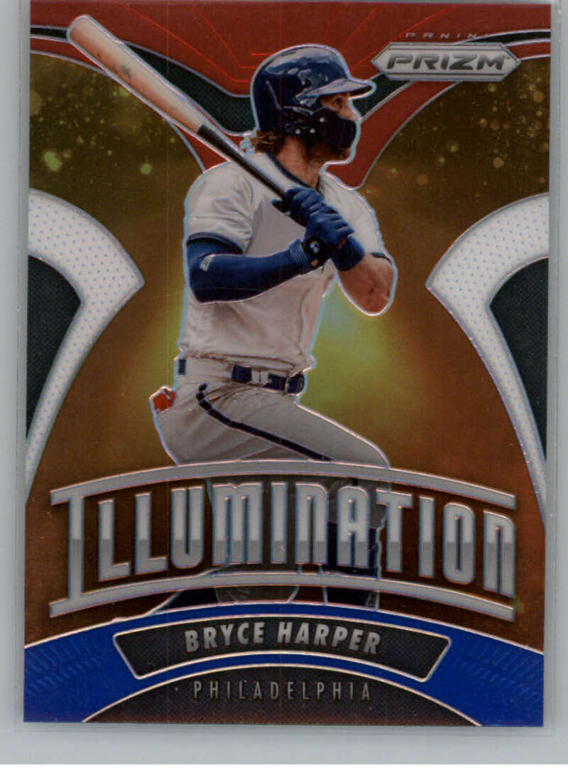 2020 Panini Prizm Illumination Red White and Blue Prizm