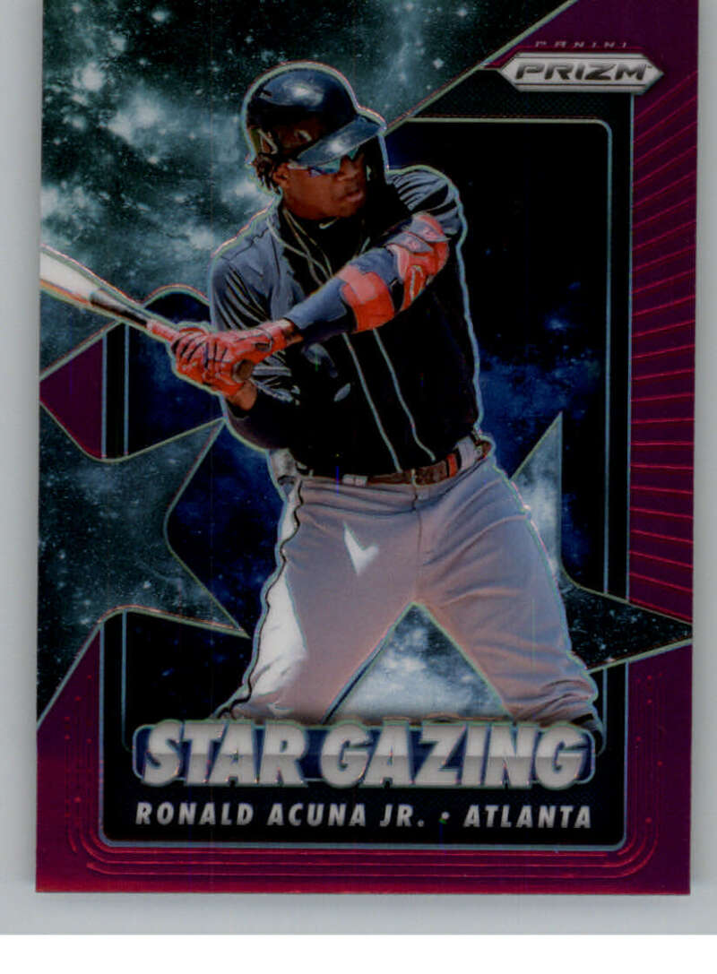 2020 Panini Prizm Star Gazing Purple Prizm