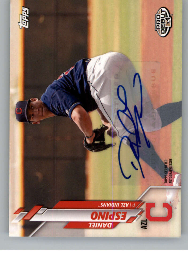 2020 Topps Pro Debut Autographs