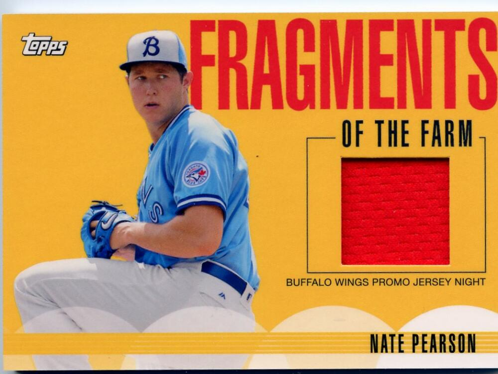 2020 Topps Pro Debut Fragments of the Farm Relics