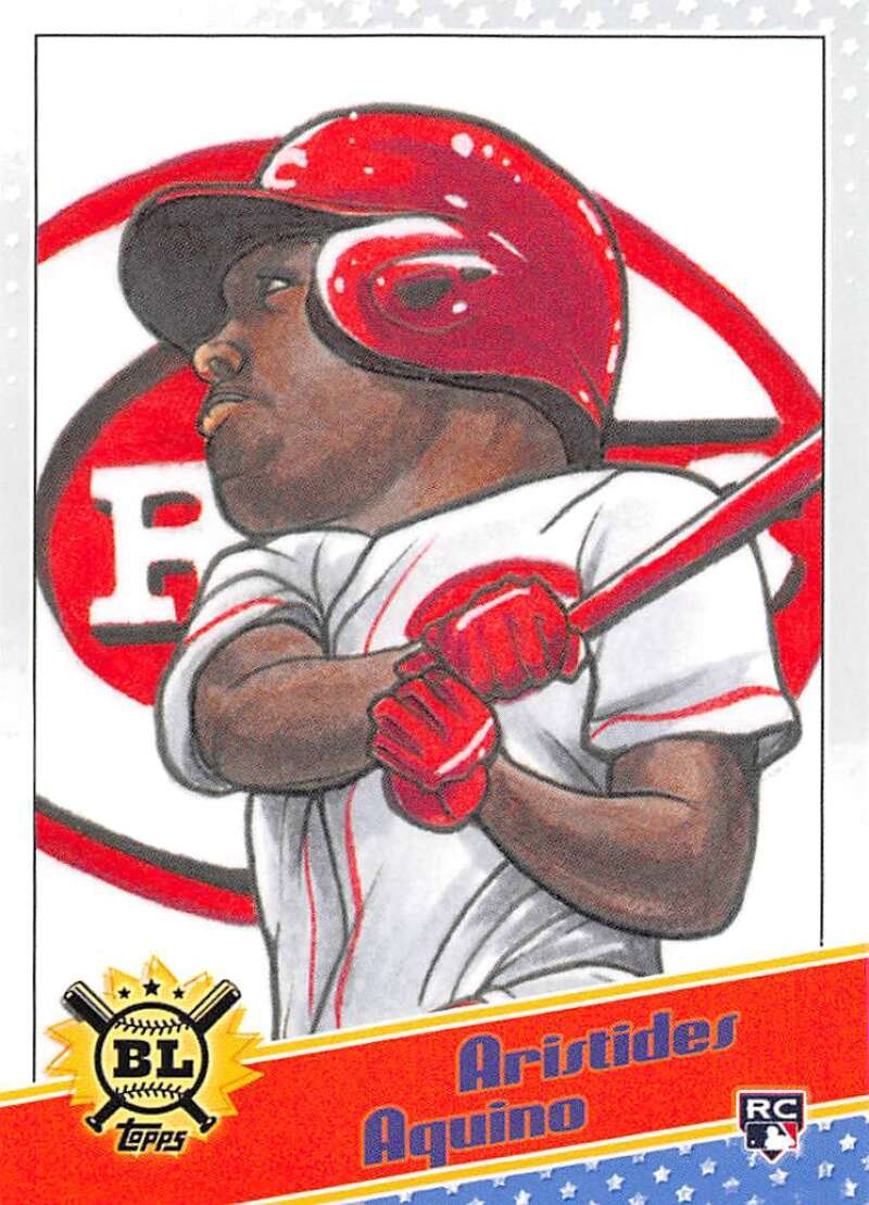 2020 Topps Big League Star Caricature Reproductions