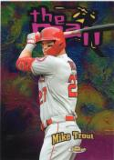 2020 Finest The Man Refractros #FTM-1 Mike Trout NM Near Mint
