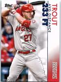 2020 Topps Significant Statistics #SS-3 Mike Trout NM Near Mint