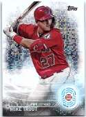 2020 Topps 2030 #T2030-1 Mike Trout NM Near Mint
