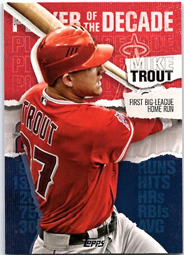 2020 Topps  Player of the Decade