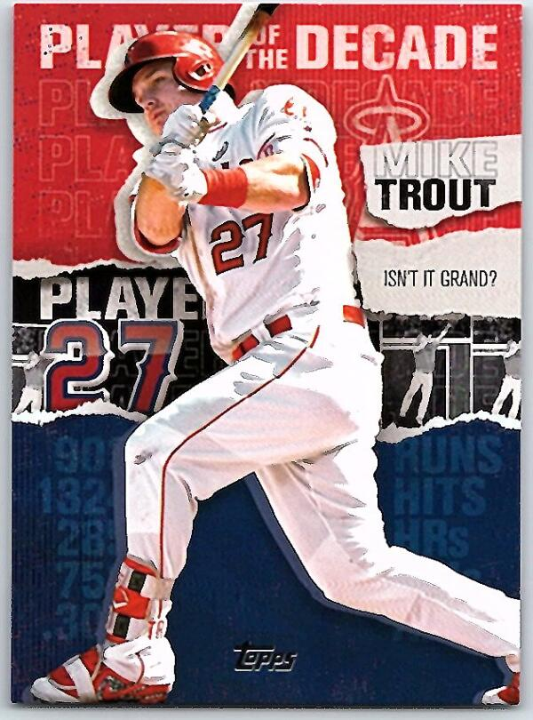 2020 Topps  Player of the Decade Black