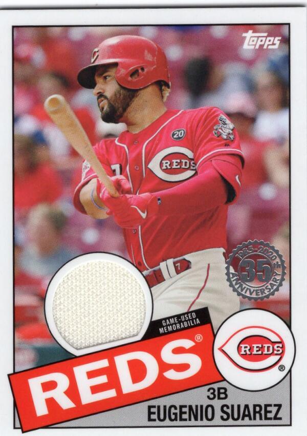 2020 Topps  1985 Baseball Relics Series 2