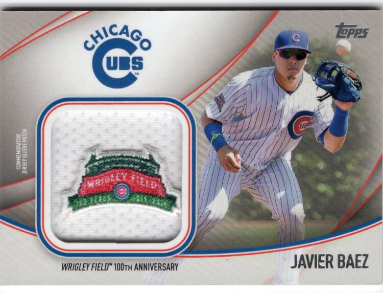 2020 Topps  Jumbo Special Event Jersey Sleeve Patch Manufactured Relics Series 2