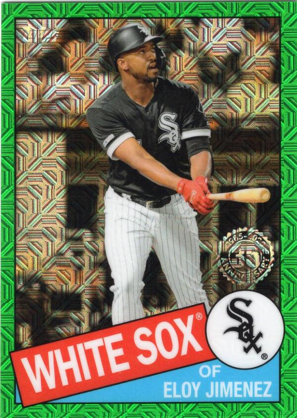 2020 Topps Silver Packs Series Two Green