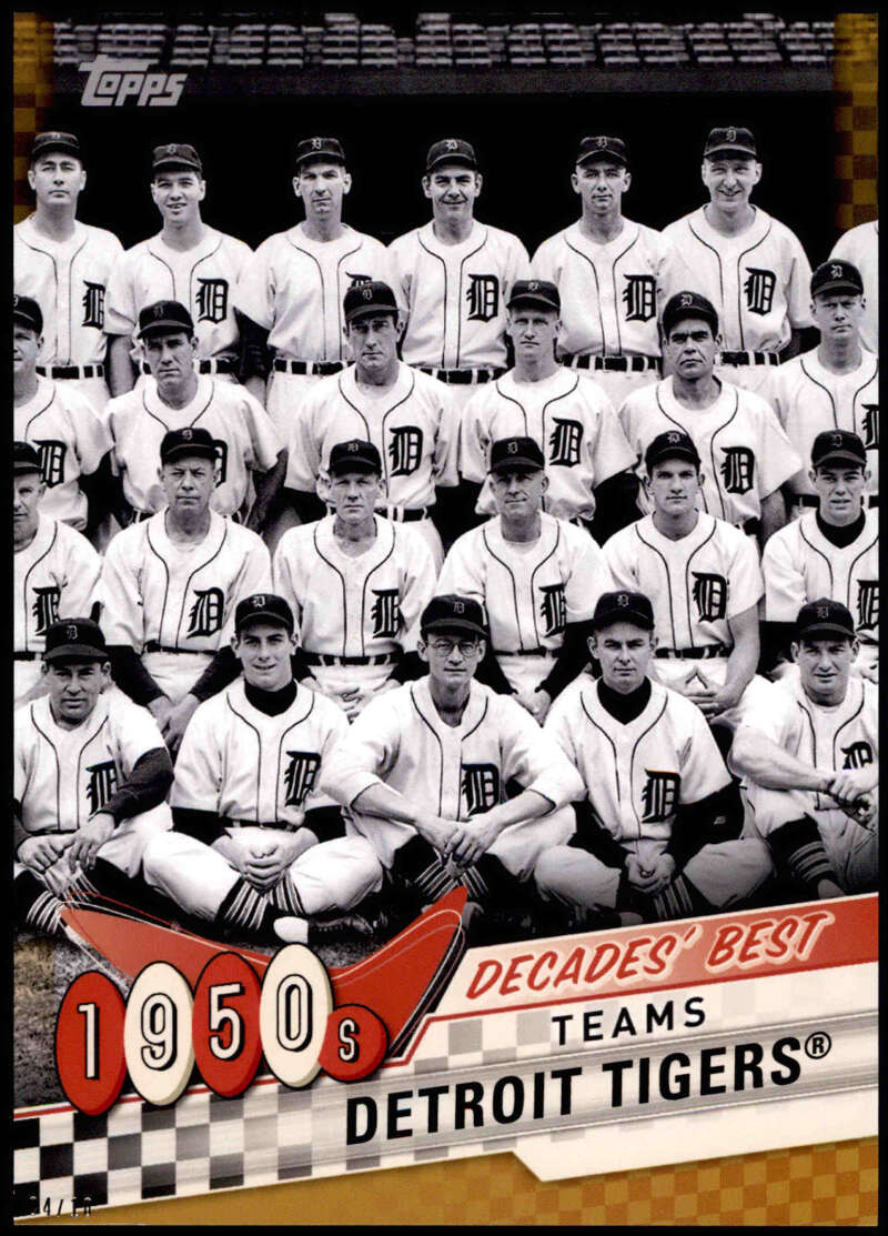 2020 Topps  Decade's Best Series 2 5x7 Gold